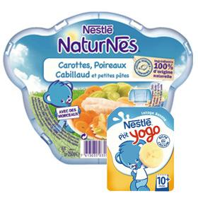 Des produits Nestlé Bébé gratuits dans les magasins Auchan