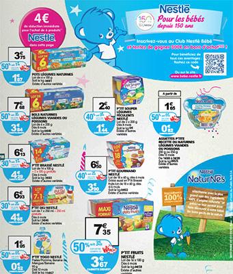Promotions Nestlé Bébé chez Auchan
