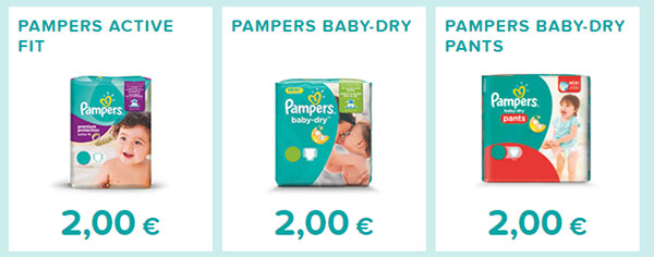 Bons de réduction pampers active fit