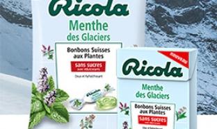 Test Bonbons Ricola Menthe des Glaciers : 6000 boîtes gratuites