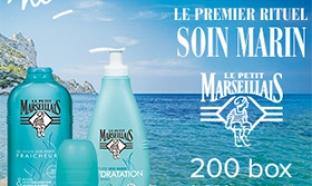 Test de soins Marin Le Petit Marseillais : 900 produits gratuits