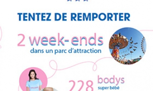 Jeu Super Mamans Carrefour : 2 week-ends et 228 bodys + T-Shirts