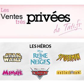 Vente Privée Les Héros Tati : Vêtements Disney pas chers, …