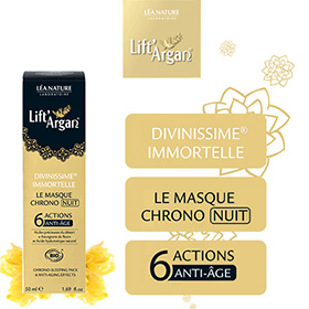 Test Léa Nature : 100 masques Divinissime Immortelle gratuits