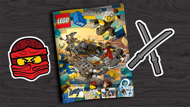 Abonnement gratuit au LEGO Life Magazine
