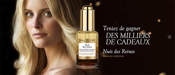 """Instants gagnants """"Nuit des Reines"""" Sanoflore"""