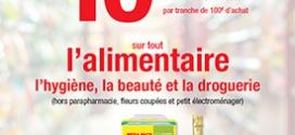 Bons d'achat Carrefour de 10€ offerts le 12 et 13 Février 2016