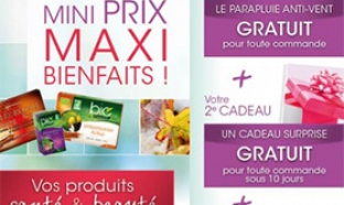 Bon plan Yves Ponroy : 2 cadeaux + articles à 5€ + fdp gratuits