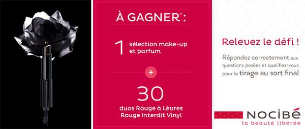 Cadeaux Givenchy à gagner avec Nocibé
