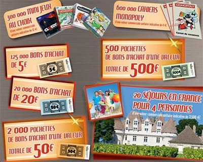 Cadeaux Monopoly Intermarche