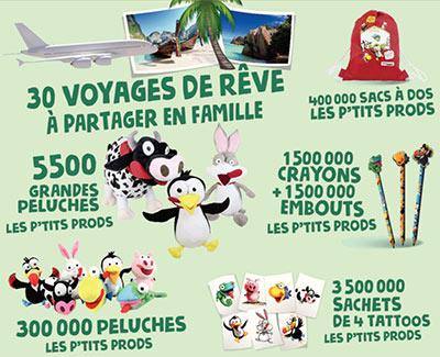 Millions Intermarché 20178 Monopoly De Cadeaux Jeu Xobrdcwe AL4qcj35SR