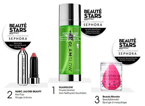 Jeu Prix Beauté Stars : les cosmétiques à gagner