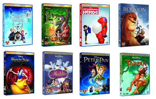 bon plan dvd disney pas chers partir de 6 75 sur amazon. Black Bedroom Furniture Sets. Home Design Ideas