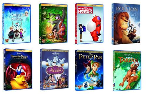 Bon plan DVD Disney pas cher