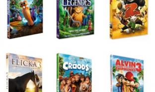 Auchan : DVD DeamWorks pas chers (1.50€ l'unité)