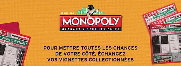 Bourse d'échange de vignettes Monopoly