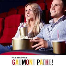 Groupon : Place de ciné Gaumont Pathé moins chère à 5.90€