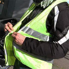 Gilet de sécurité gratuit à recevoir – haute visibilité