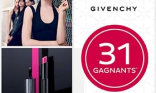Jeu Nocibé et Givenchy