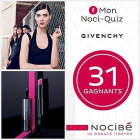31 lots de maquillage et parfum Givenchy à gagner