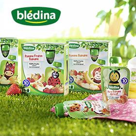 Test Blédina bébé : 1000 gourdes de fruits gratuites