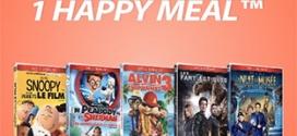 DVD McDo 2016 gratuit pour 1 menu + 1 Happy Meal achetés