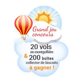 Concours Céréalpes : 220 lots (Wonderbox et boites de biscuits)