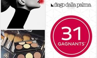 Jeu Nocibé : 31 lots de maquillage Diego Dalla Palma à gagner
