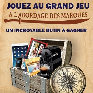 Concours Géant Casino : Le grand jeu des marques