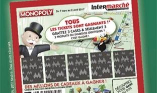 Monopoly Intermarché Jeu 2017 : + 8 millions de cadeaux