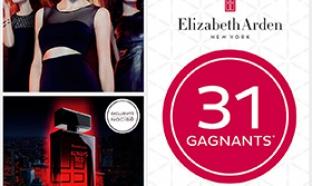 32 parfums Elizabeth Arden à gagner avec Nocibé