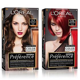 150 colorations Préférence Infinia L'Oréal Paris à tester