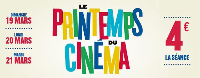 Printemps du Cinéma 2017