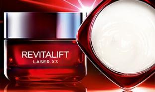 Echantillons L'Oréal Revitalift X3 : 1 semaine de soin offert