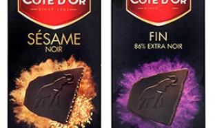 Tablette de chocolat Côte d'Or gratuite