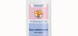 Test de l'Eau nettoyante sans rinçage Natessance : 100 gratuites