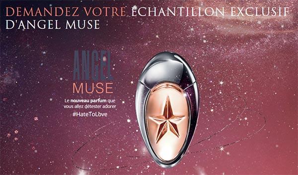 échantillons gratuits Thierry Mugler Angel Muse