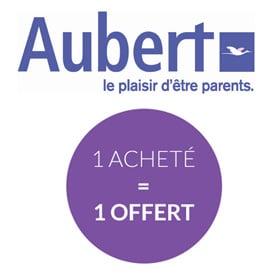 Bon plan déstockage Aubert : 1 article acheté = 1 offert
