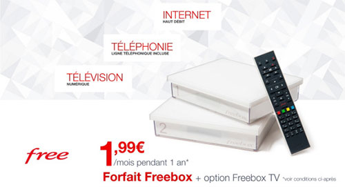 Forfait adsl Free pas cher