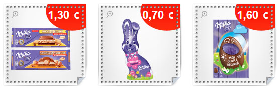 Bons de r duction milka 3 de remises sur les chocolats - Alinea bon de reduction ...
