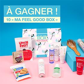 Jeu Monoprix : 10 coffrets «My Feel Good Box» à gagner