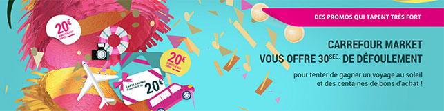 Jeu Carrefour Market 2017