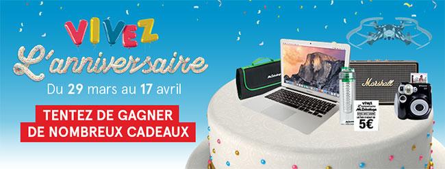 Concours Mr Bricolage : Jeu sur anniversaire-mrbricolage.fr