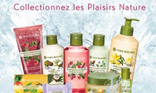 Jeu Yves Rocher : 500 Collections Plaisirs Nature à gagner