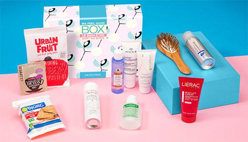 20 Box Feel Good contenant de nombreux produits à gagner