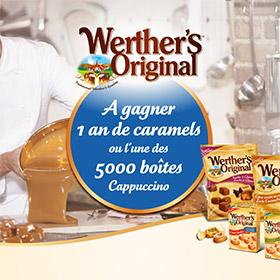 Instants gagnants Werther's : 5000 boîtes de bonbons à gagner