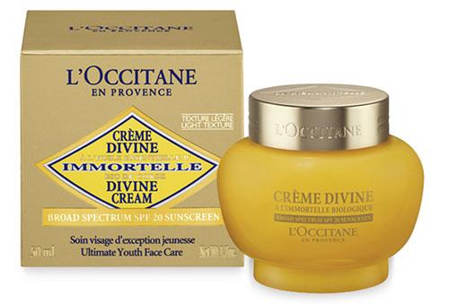crème L'Occitane Divine Texture Légère