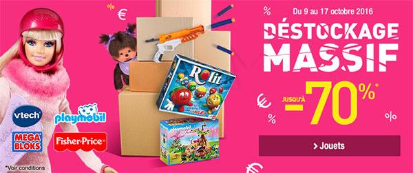 Auchan offre jusqu'à 70% de réduction sur les jouets de Noël 2016
