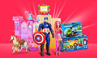 Déstockage Auchan sur les jouets de Noël