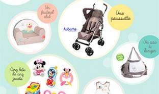 Concours Disney Baby / Parents : Magnifiques cadeaux à gagner